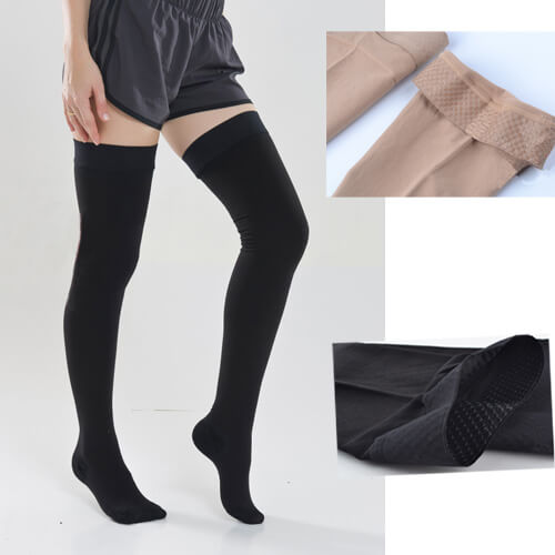 20-30 mmHg Gradient Compression Thigh high stocking