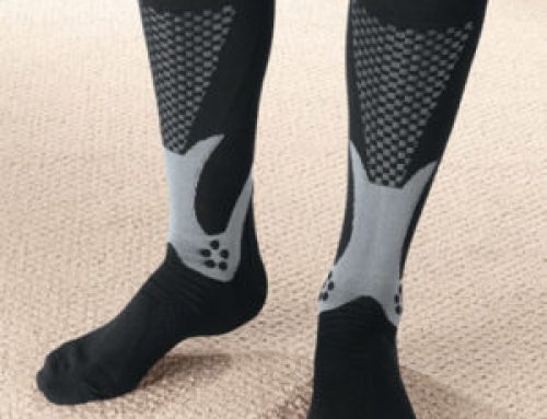 Does wearing compression socks to actually improve recovery?