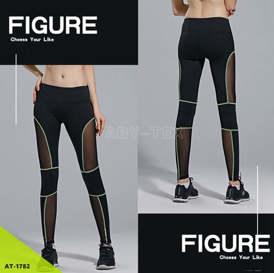 High waist gym leggings ladies