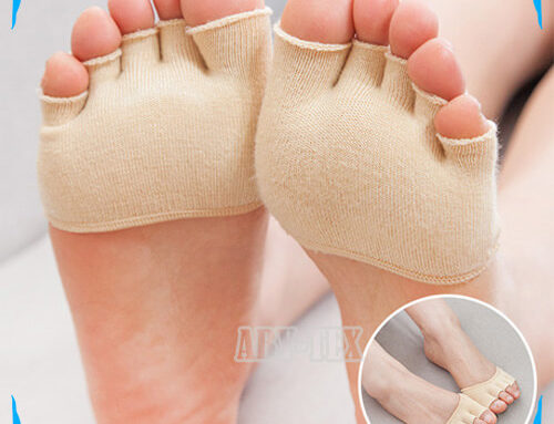 Breathable open toe cover socks