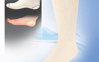 Diabetes and Circulatory Crew Sock with Gel