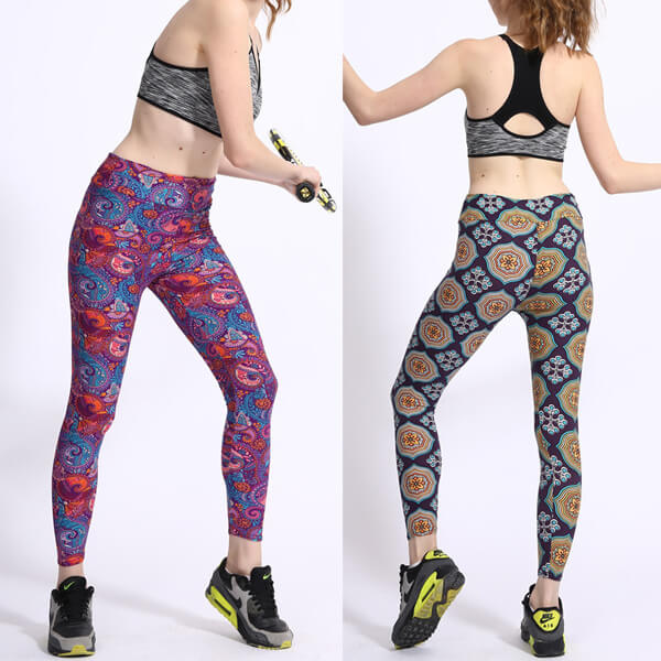 Extra Soft Leggings with Tribal Designs Variety of Prints