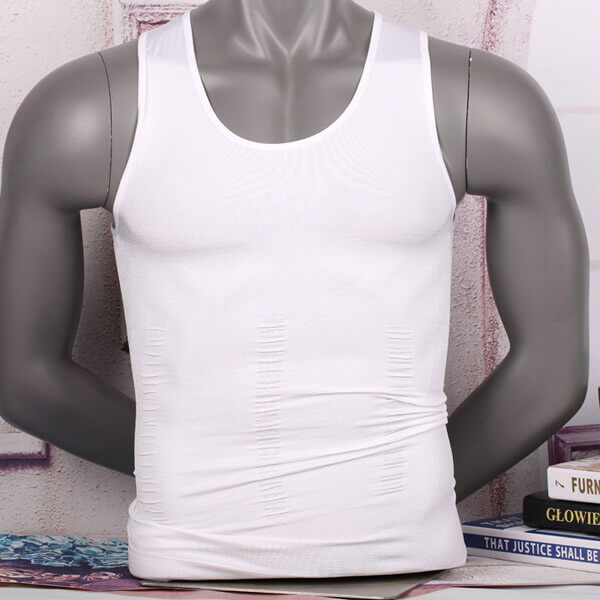 Mens Posture Slimming Body Shaper Vest
