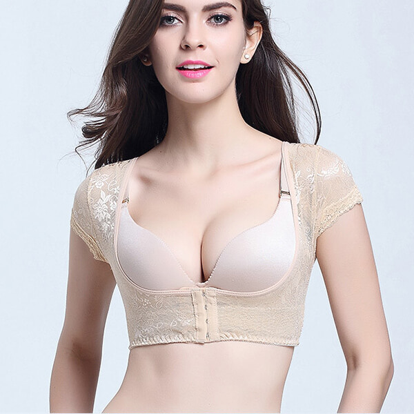 Women Corrector Upper Shoulder With Push Up Bra