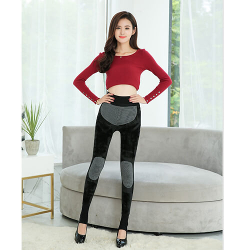 Women's Winter Warm Velvet Elastic Leggings