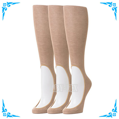 Women's knee high compression no show stockings