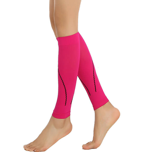 calf compression sleeve to guard & brace calves and shins